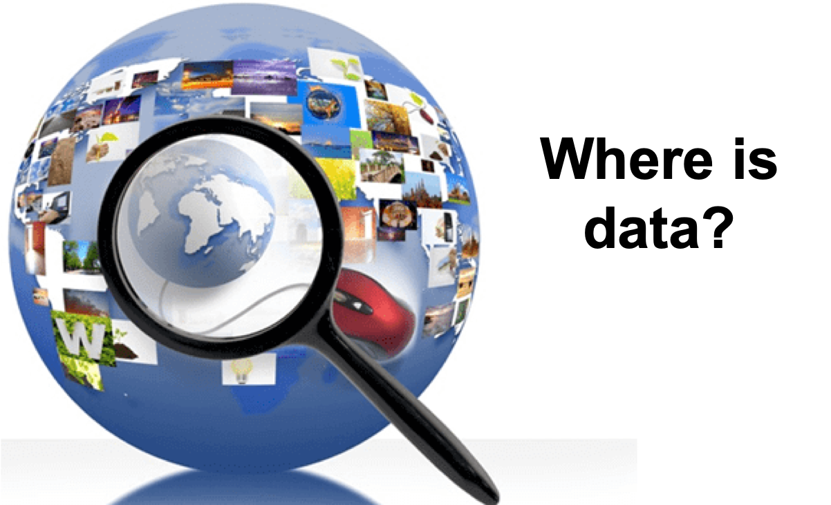 Where could you find data for Machine Learning: 3 methods ...